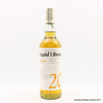 Littlemill 1992 20 Year Old Whisky Agency