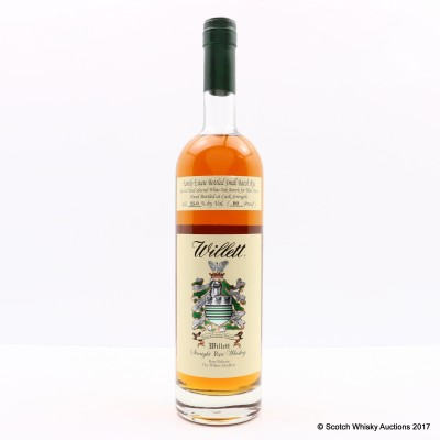 Willett Small Batch Rye 3 Year Old 75cl