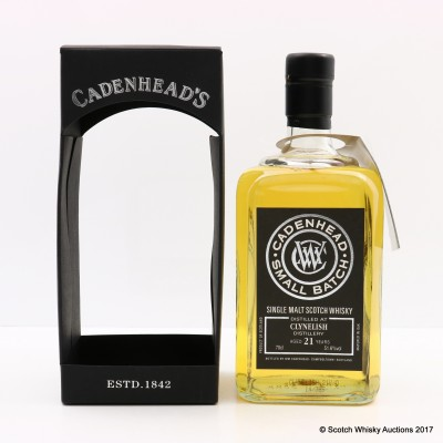 Clynelish 1992 21 Year Old Cadenhead's