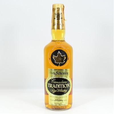Schenley Tradition Rye Whisky