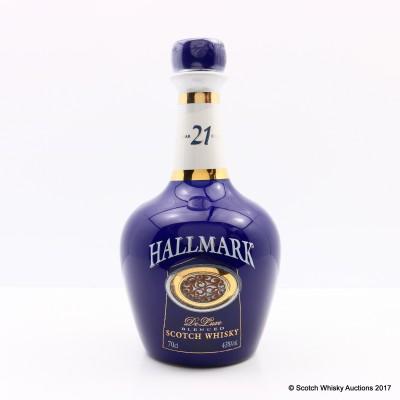 Hallmark 21 Year Old Blended Whisky