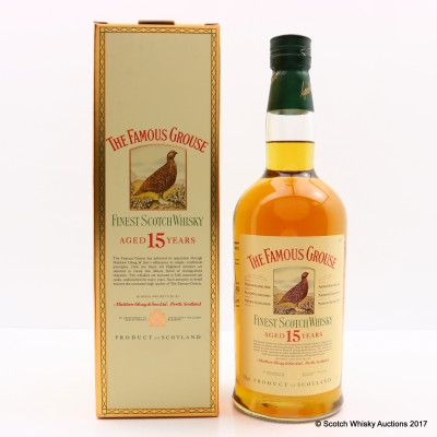 Famous Grouse 15 Year Old 75cl