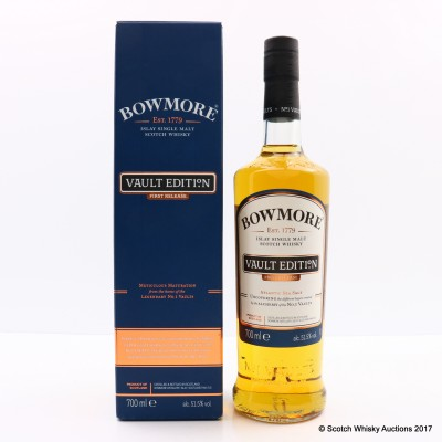 Bowmore Vault Edition First Release