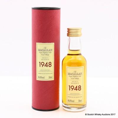 Macallan 1948 Select Reserve Mini 5cl