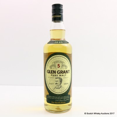Glen Grant 5 Year Old Pure Malt