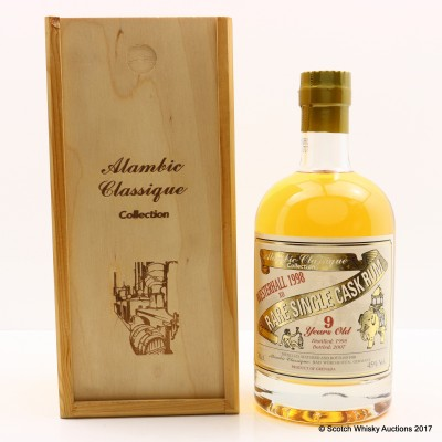 Westerhall 1998 9 Year Old XO Alambic Classique