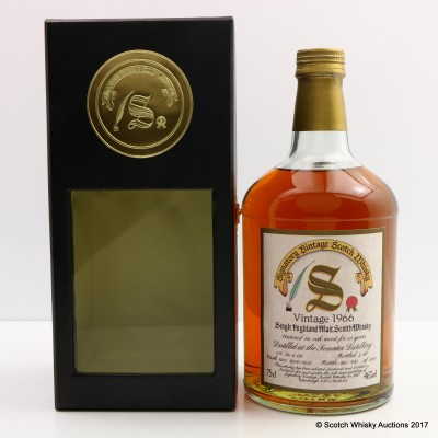 Tomatin 1966 23 Year Old Signatory 75cl