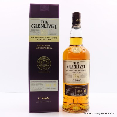Glenlivet Master Distiller's Reserve Solera Vatted 1L