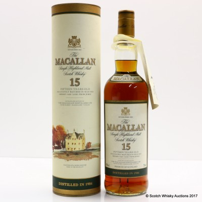 Macallan 1984 15 Year Old