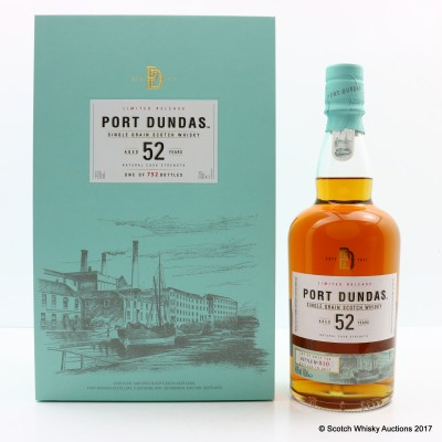 Port Dundas 52 Year Old 2017 Limited Release