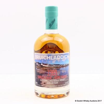 Bruichladdich 1989 20 Year Old Single Cask Rum Finish 50cl