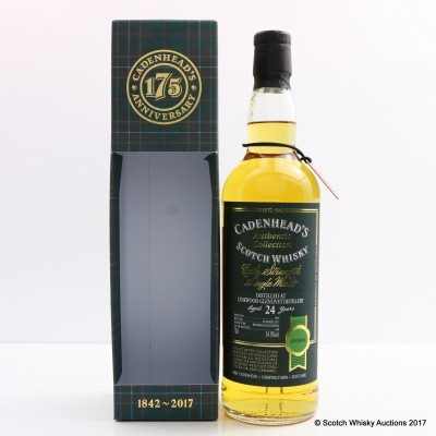 Linkwood-Glenlivet 1992 24 Year Old Cadenhead's