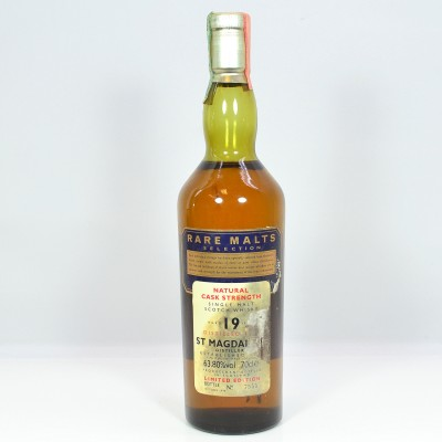 Rare Malts St Magdalene 1979 19 Year Old (Damaged Label)