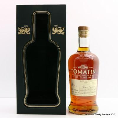 Tomatin 2002 Single Cask #34912 Distillery Exclusive