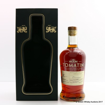 Tomatin 2005 Oloroso Cask #5221 Distillery Exclusive
