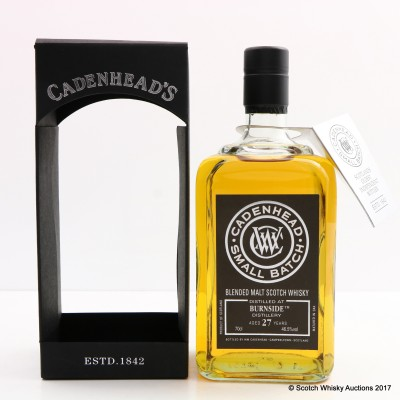 Burnside 1989 27 Year Old Cadenhead's