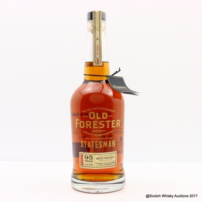 Old Forester Bourbon Distilled For Statesman