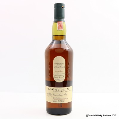 Lagavulin Distillery Only Cask Strength 2010 Release