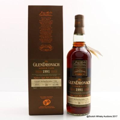 GlenDronach 1991 18 Year Old Single Cask #3182