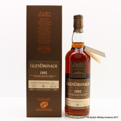 GlenDronach 1995 20 Year Old Single Cask #444