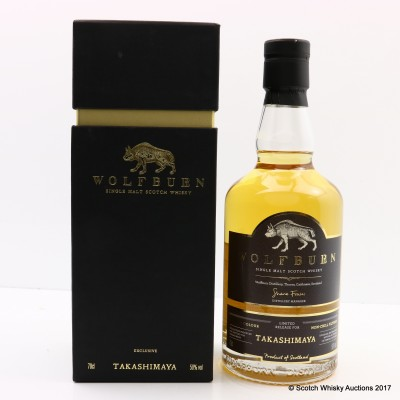 Wolfburn Limited Release For Takashimaya
