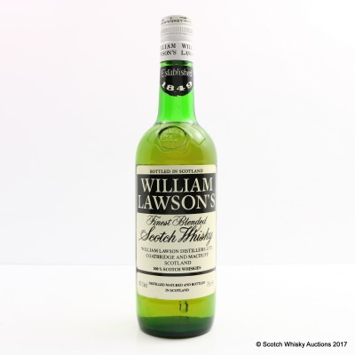 William Lawson's Blended Scotch 75cl