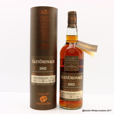 GlenDronach 2003 13 Year Old Single Cask #5480 M&P Release