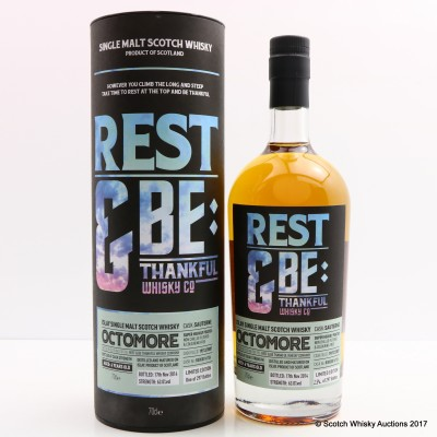 Octomore 2007 6 Year Old Sauternes Cask Rest & Be Thankful