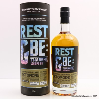 Octomore 2008 6 Year Old Bourbon Cask Rest & Be Thankful