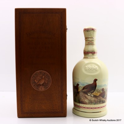 Famous Grouse Centenery Decanter