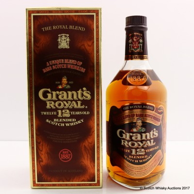 Grant's Royal 12 Year Old Blend 75cl