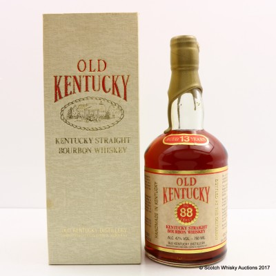 Old Kentucky 13 Year Old No 88 Brand 75cl