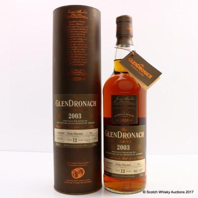 GlenDronach 2003 12 Year Old Single Cask #1822 For The Nectar & La Maison Du Whisky