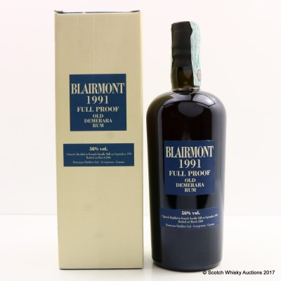 Blairmont 1991 15 Year Old Demerara Rum