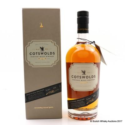 Cotswolds Single Malt Inaugural Release