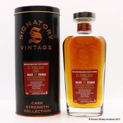 Clynelish 1995 21 Year Old Signatory