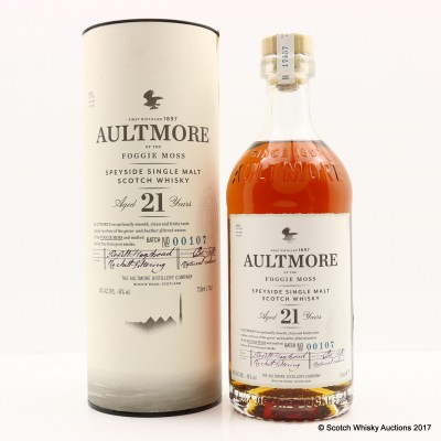 Aultmore 21 Year Old 75cl