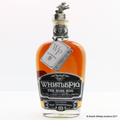 Whistlepig 15 Year Old Boss Hog 3rd Edition 75cl