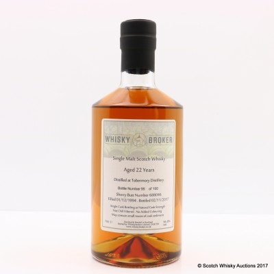 Tobermory 1994 22 Year Old Whisky Broker