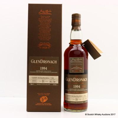 GlenDronach 1994 21 Year Old Single Cask #1189 Distillery Exclusive