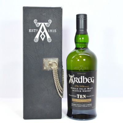 Ardbeg 10 Year Old Ultimate In Leather Box