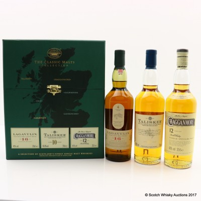 Classic Malts Collection 3 x 20cl