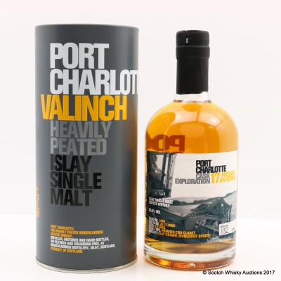 Port Charlotte Valinch 17 Cask Exploration Foghar An Eorna 50cl