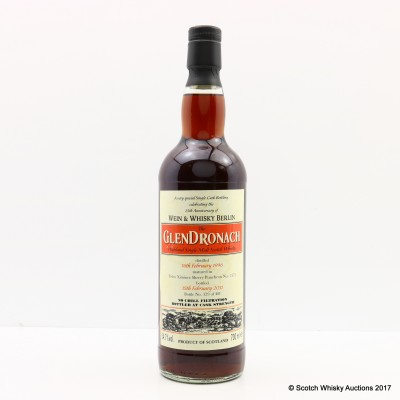 GlenDronach 1996 for 25th Anniversary of Wein & Whisky Berlin