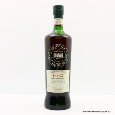 SMWS 66.82 Ardmore 1998 17 Year Old