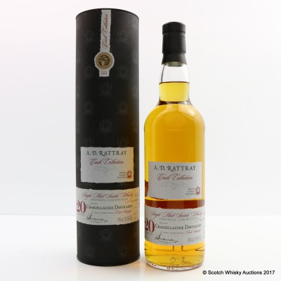 Craigellachie 1991 20 Year Old A.D. Rattray