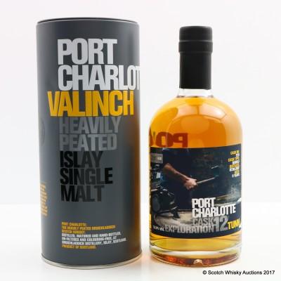 Port Charlotte Valinch 12 Cask Exploration Tunn 50cl