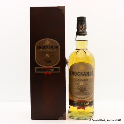 Knockando 1988 18 Year Old