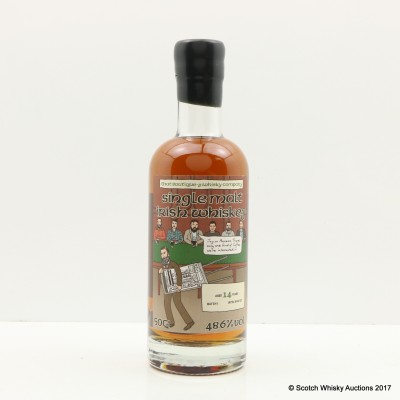 Boutique-y Whisky Co Single Malt Irish Whiskey 14 Year Old Batch #1 50cl