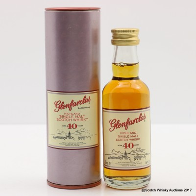 Glenfarclas 40 Year Old Mini 5cl
